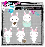 CU Easter Bunnies Collestion 02 Templates