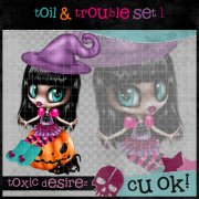 Toil & Trouble Set 1
