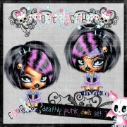 Deadly Punk Dolls Set 1