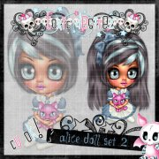 Alice Doll Set 2