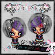 Deadly Punk Dolls Set 5