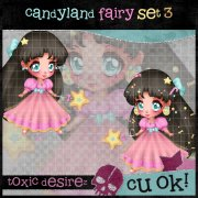 Candyland Fairy Set 3