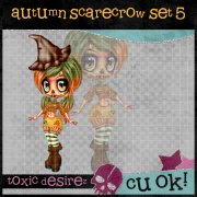Autumn SCarecrow Set 5