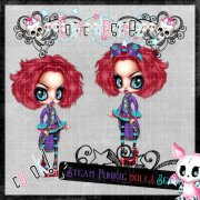 Steam-Punkie Doll Set 2
