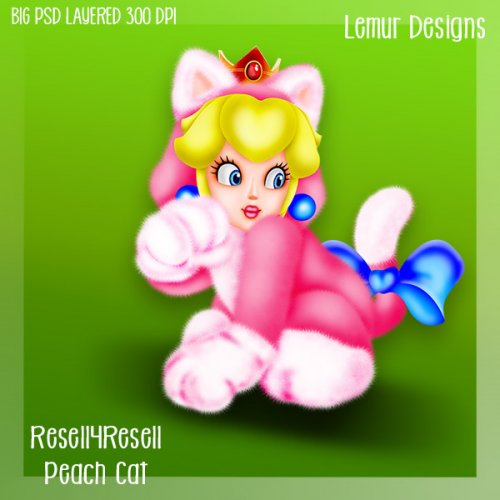 Peach Cat R4R SS Commission