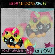 Baby Unicorn Set 5