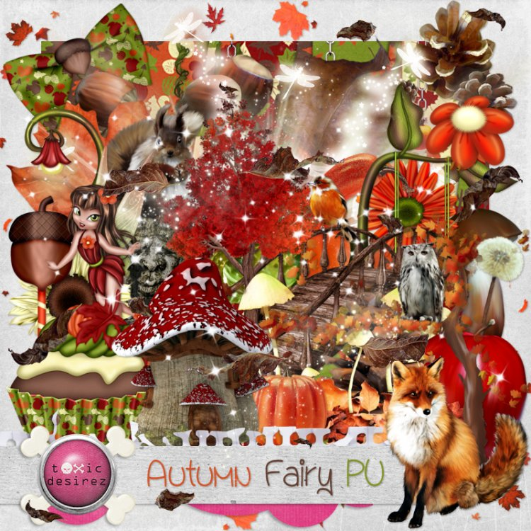 Autumn Fairy - Click Image to Close