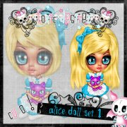 Alice Doll Set 1