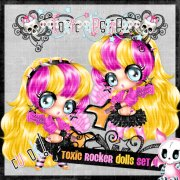 Toxic Rocker Dolls Set 4