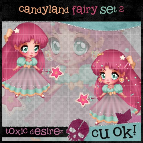 Candyland Fairy Set 2