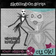 CU Skellington Script EXCLUSIVE