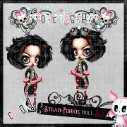 Steam-Punkie Doll Set 3