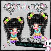 Butterfly Kissed Doll Set 3