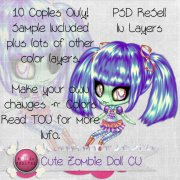 Cute Zombie Doll ReSell