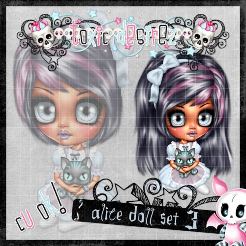 Alice Doll Set 3