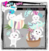 CU Easter Bunnies Collestion 01 Templates