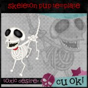 CU Skeleton Pup Template EXCLUSIVE