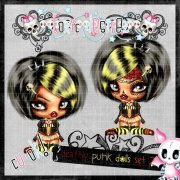 Deadly Punk Dolls Set 2
