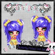 Butterfly Kissed Doll Set 2